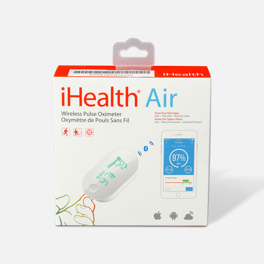 iHealth Air PO3M Pulse Oximeter, , large image number 0