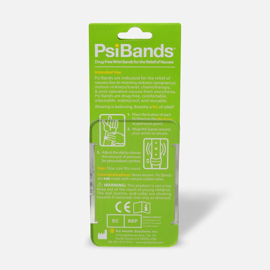 Psi Bands Nausea Relief Wrist Bands - Heart Land, , large image number 1
