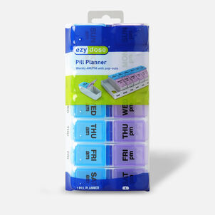 EZY Dose Weekly/AM-PM Pill Planner