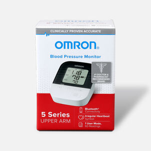OMRON 5 Series Wireless Upper Arm Blood Pressure Monitor (BP7250)