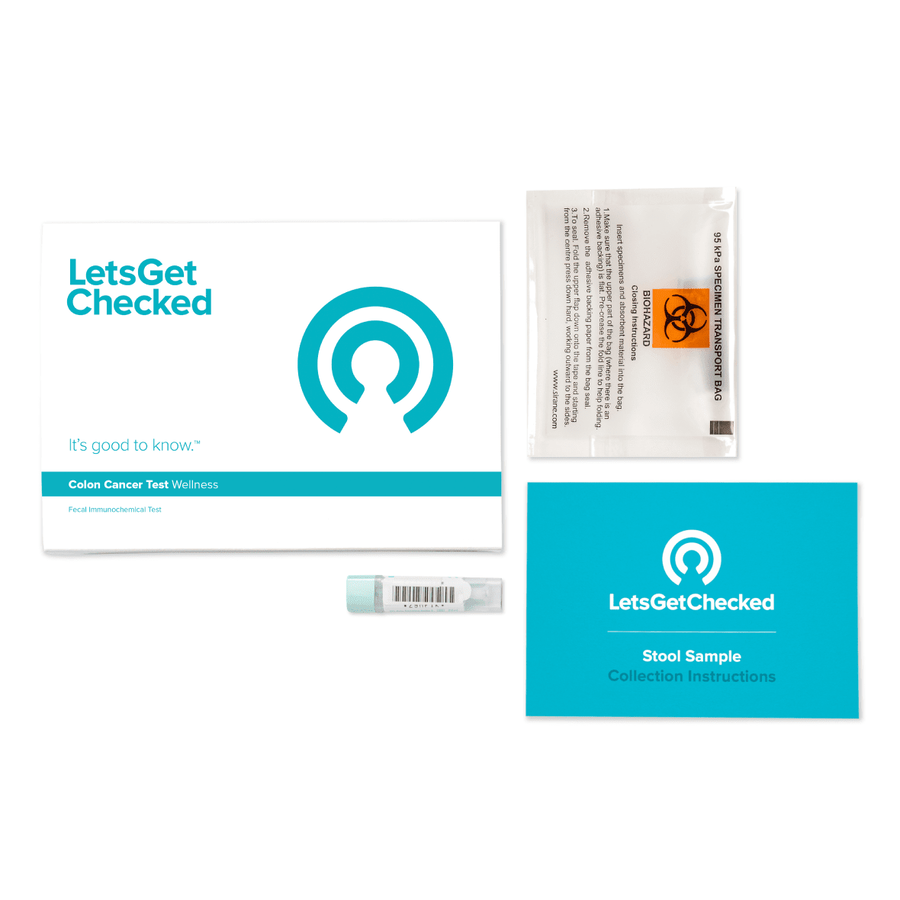 LetsGetChecked At Home Colon Cancer Test, , large image number 1
