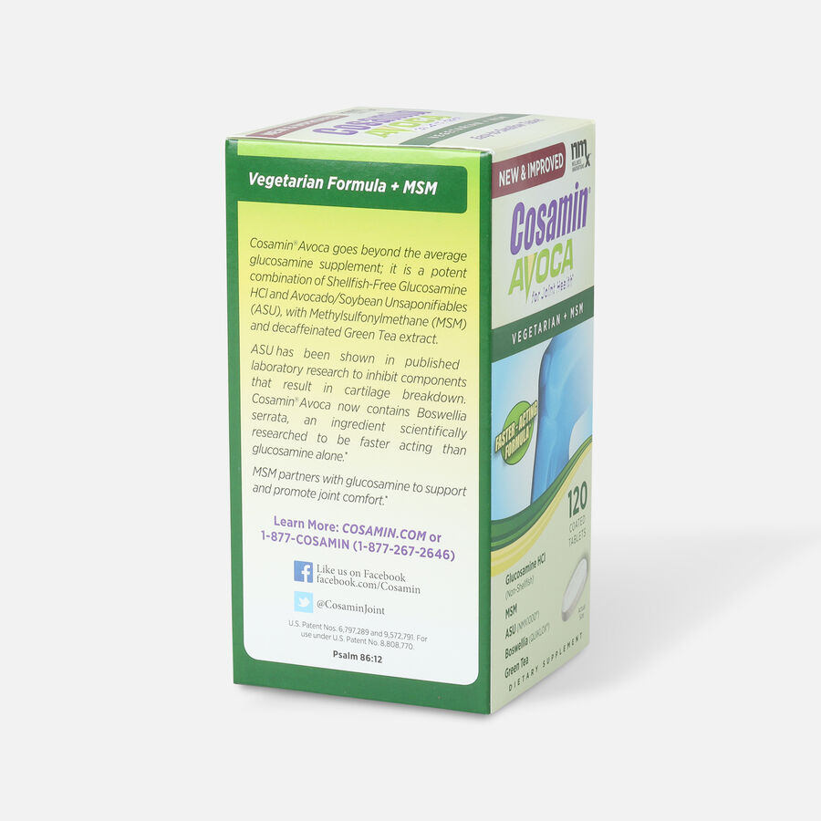 Cosamin Avoca Vegetarian Joint Health Tablets, 120 count, , large image number 4
