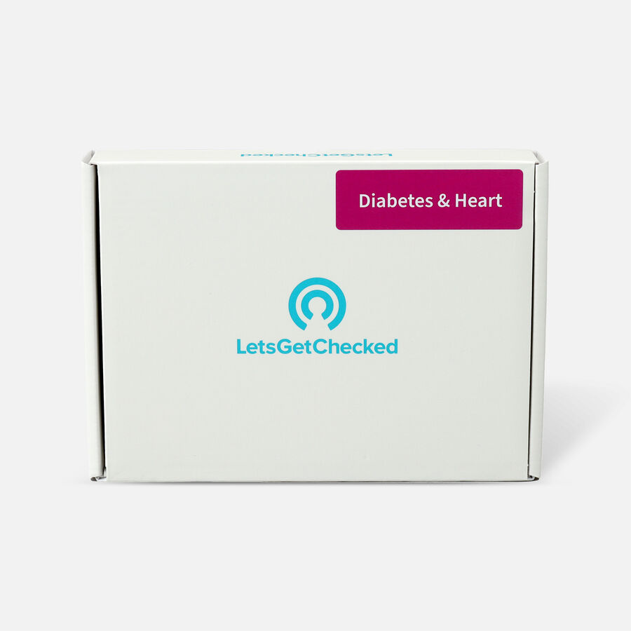 LetsGetChecked Diabetes and Heart Test, , large image number 0