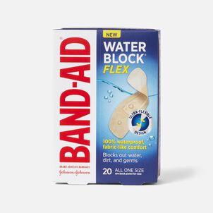 Band-Aid Waterblock Flex AOS Adhesive Bandages, 20 ct