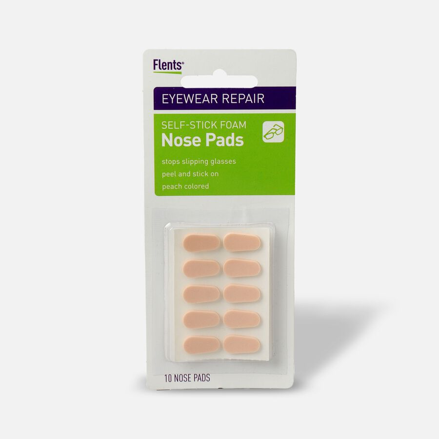 Flents Nose Pads Self-Stick Foam Peach, 10 ea, , large image number 0