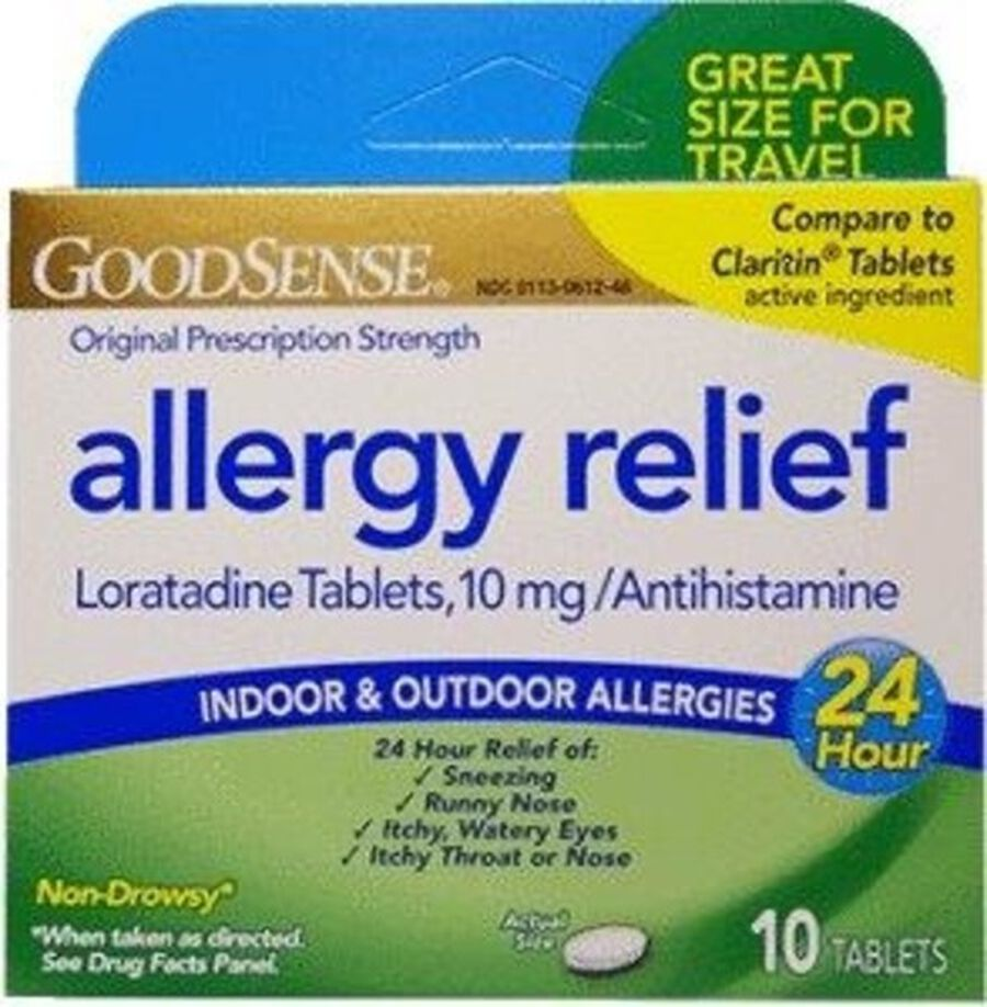 GoodSense® Allergy Relief Loratadine 10 MG 24- HR Tablets 10 ct, , large image number 0