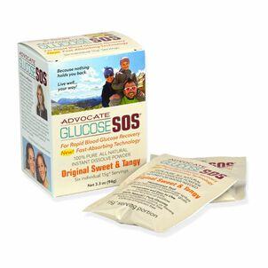 Advocate Glucose SOS Powder, Sweet & Tangy, 3.3 oz