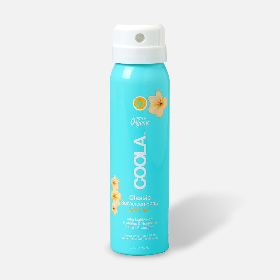 Coola Classic Body Organic Sunscreen Spray SPF 30 Pina Colada - Travel Size, , large image number 0