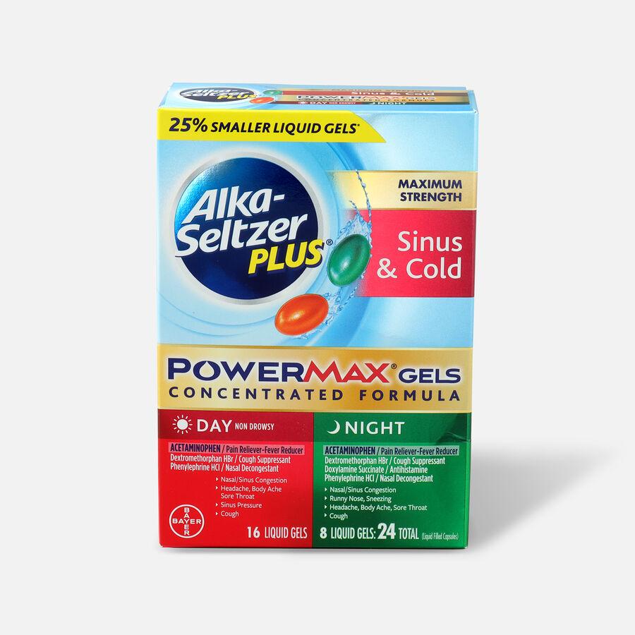 Alka-Seltzer Plus PowerMax Gels, Severe Cough, Mucus & Congestion, 24ct, , large image number 0