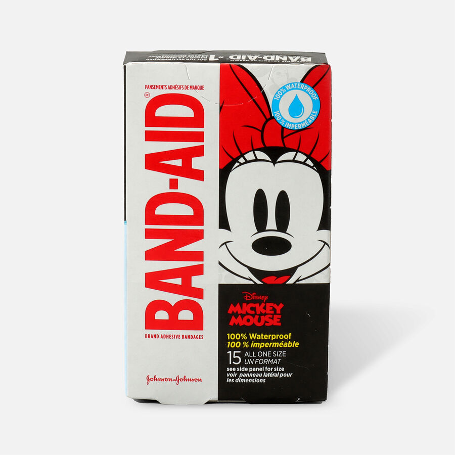 Band-Aid Disney Mickey Waterproof Bandages - 15ct, , large image number 2