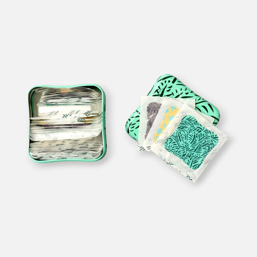 Welly Bravery Badges Floral Assorted Flex Fabric Bandages - 48ct, , large image number 2