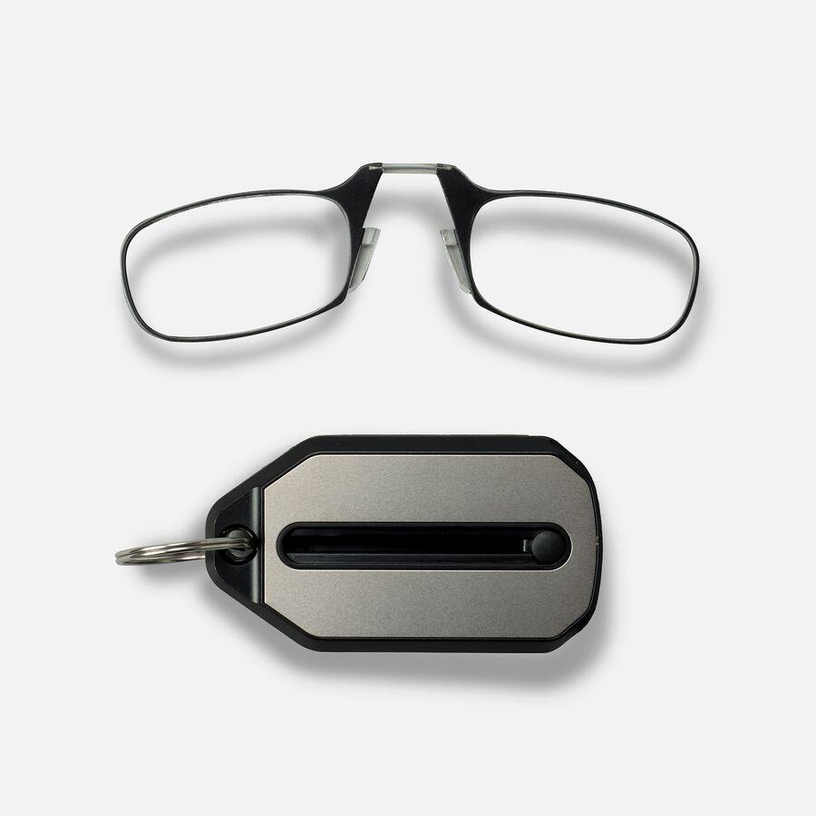 ThinOPTICS Keychain Reading Glasses, Black Frame, 2.50 Strength, , large image number 2