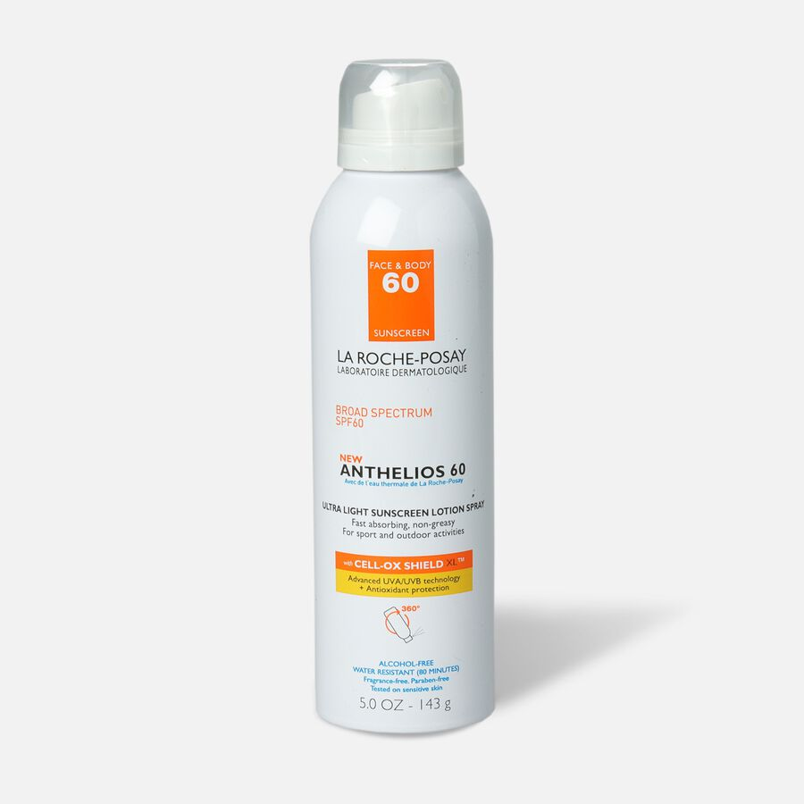 La Roche-Posay Anthelios SPF 60 Aerosol Sunscreen, 5 fl oz, , large image number 0