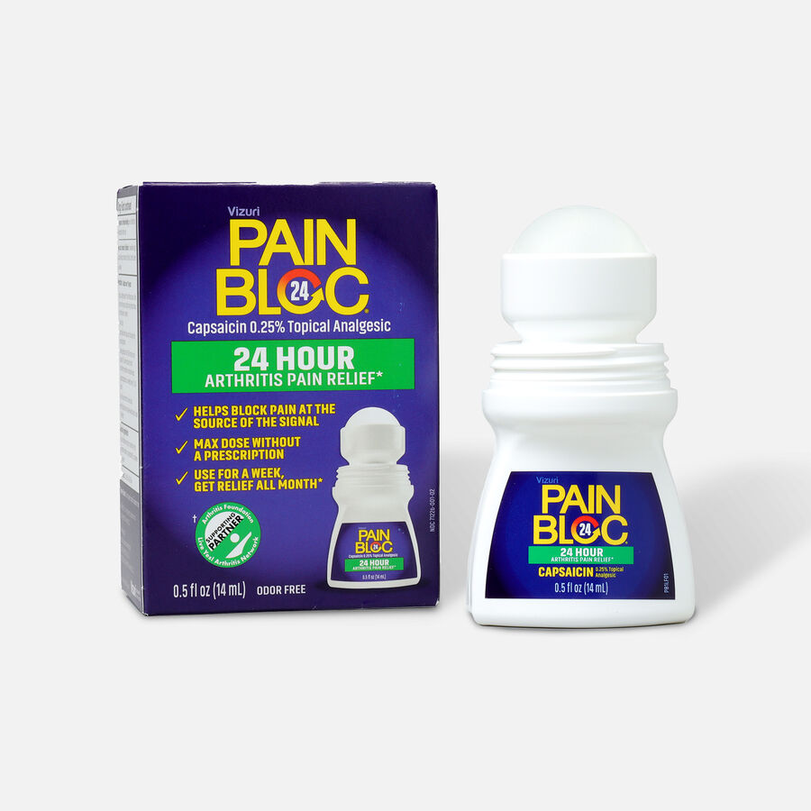 PainBloc24 Roll On Pain Reliever, , large image number 4