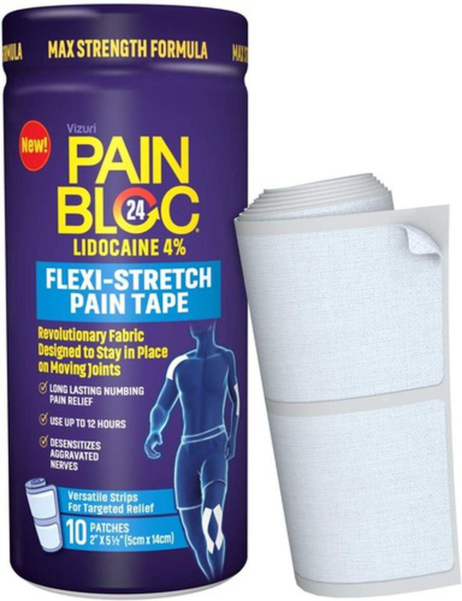 PainBloc24 Flexi-Stretch Pain Tape, 10 ct, , large image number 2