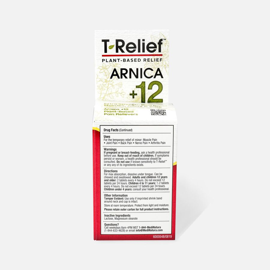 T-Relief Extra Strength Pain Relief Tablets, 90 ct, , large image number 2