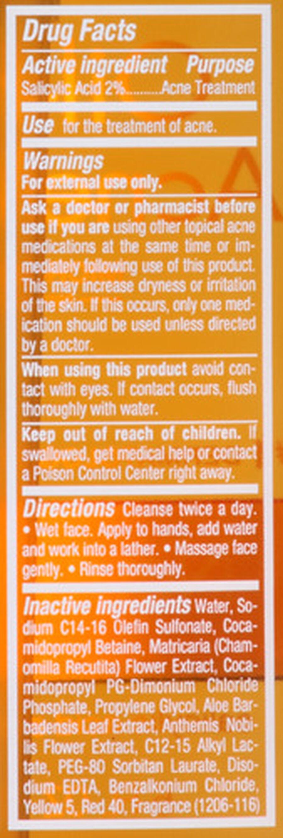Neutrogena Oil-Free Acne Wash with Salicylic Acid, 6oz., , large image number 3