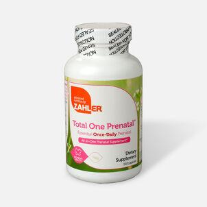 Zahler Total One Prenatal, Complete One a Day Prenatal Multivitamin