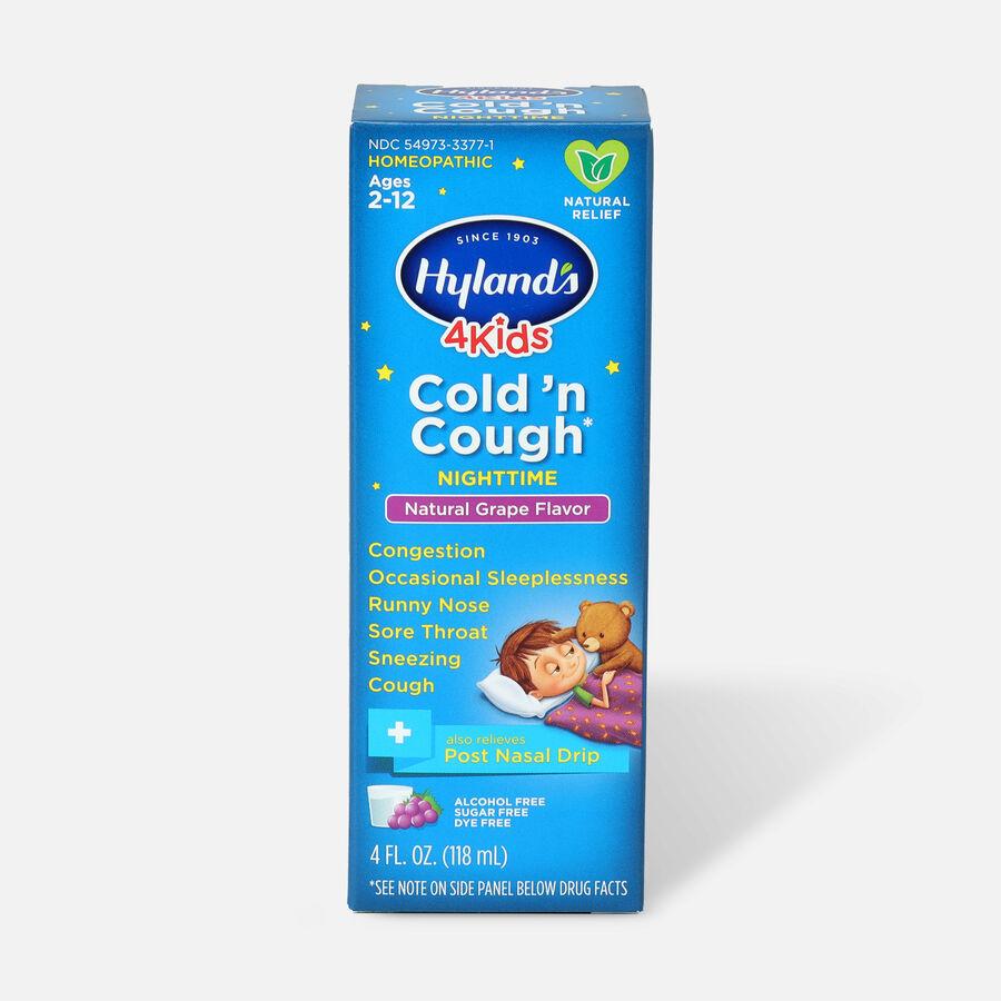 Hyland's 4 Kids Cold 'n Cough 4 Kids Cold 'n Cough Nighttime, 4oz, , large image number 0
