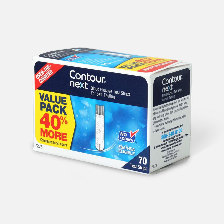 Bayer Contour Next Blood Glucose Test Strip (70 count), , large image number 2