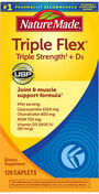 Nature Made TripleFlex® Triple Strength Glucosamine with Vitamin D, 120 ea, , large image number 0
