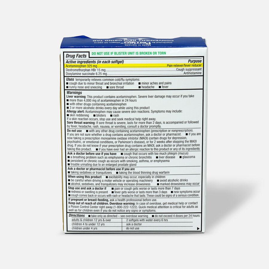 GoodSense® NightTime Cold & Flu Multi Symptom Softgels, 24 ct, , large image number 1