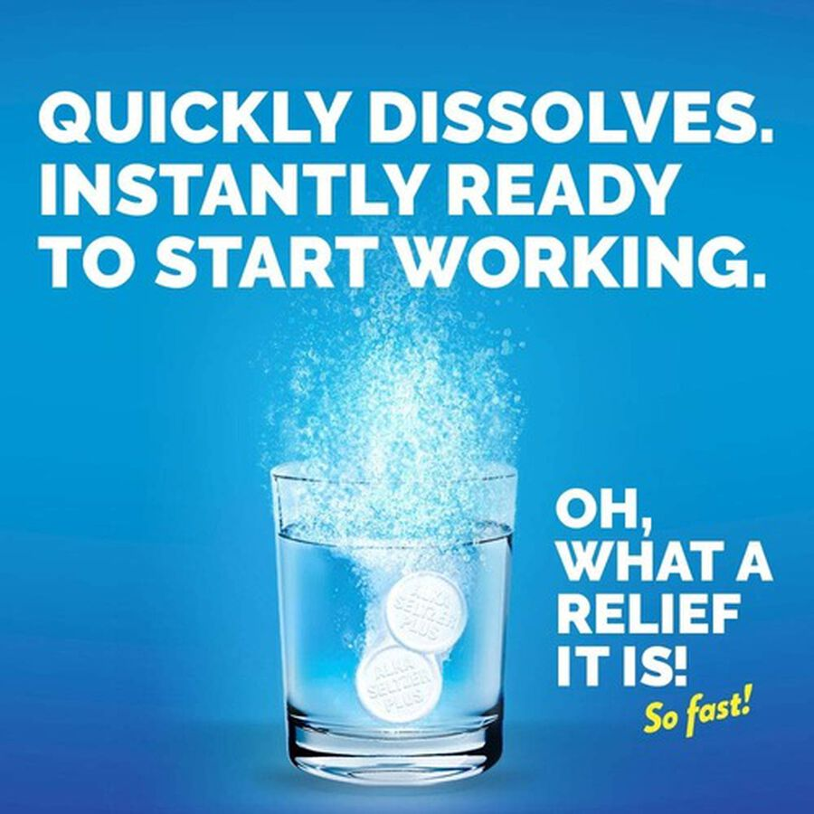 Alka-Seltzer Plus Cold & Cough PowerFast Fizz Effervescent Tablets, 20ct, , large image number 8