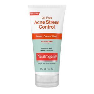 Neutrogena Acne Stress Control Power-Cream Wash, 6oz.