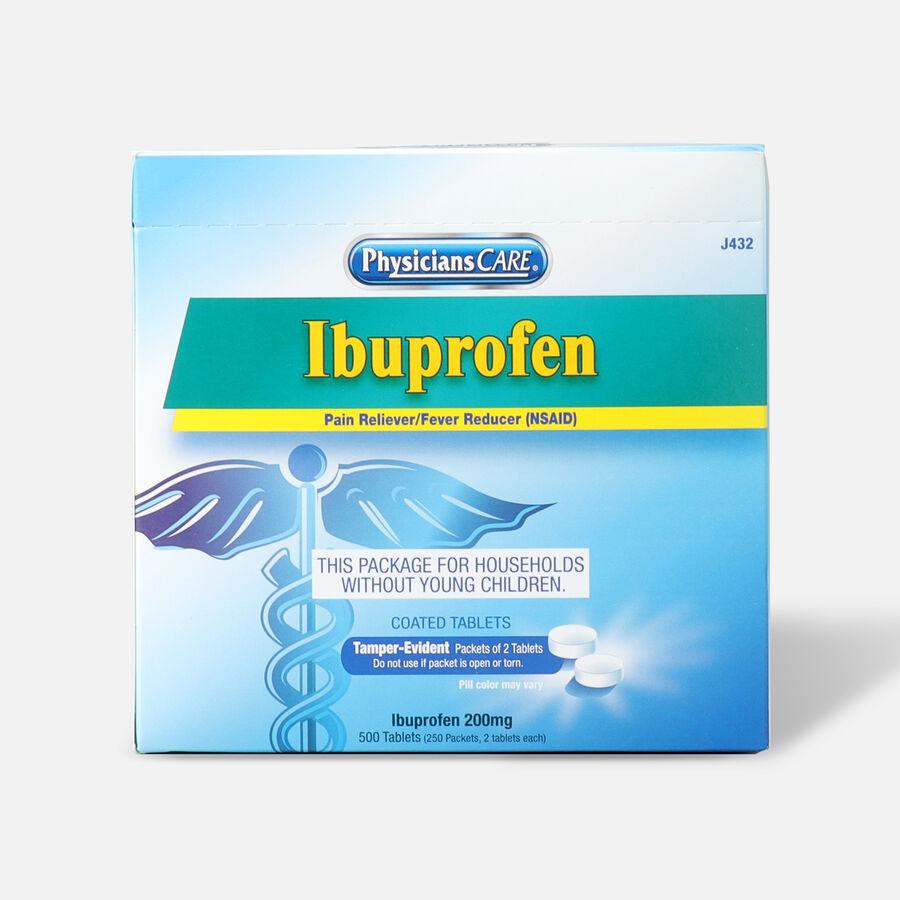 PhysiciansCare Ibuprofen, 500/Box, , large image number 0