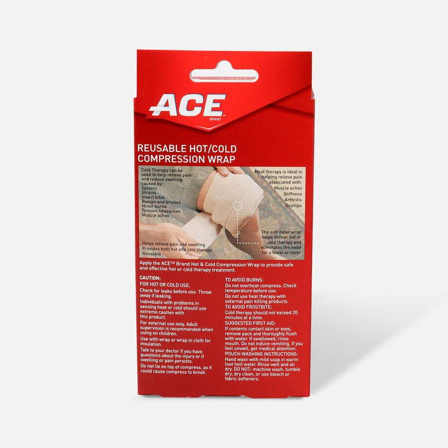 ACE Hot and Cold Reusable Compression Wrap, , large image number 1