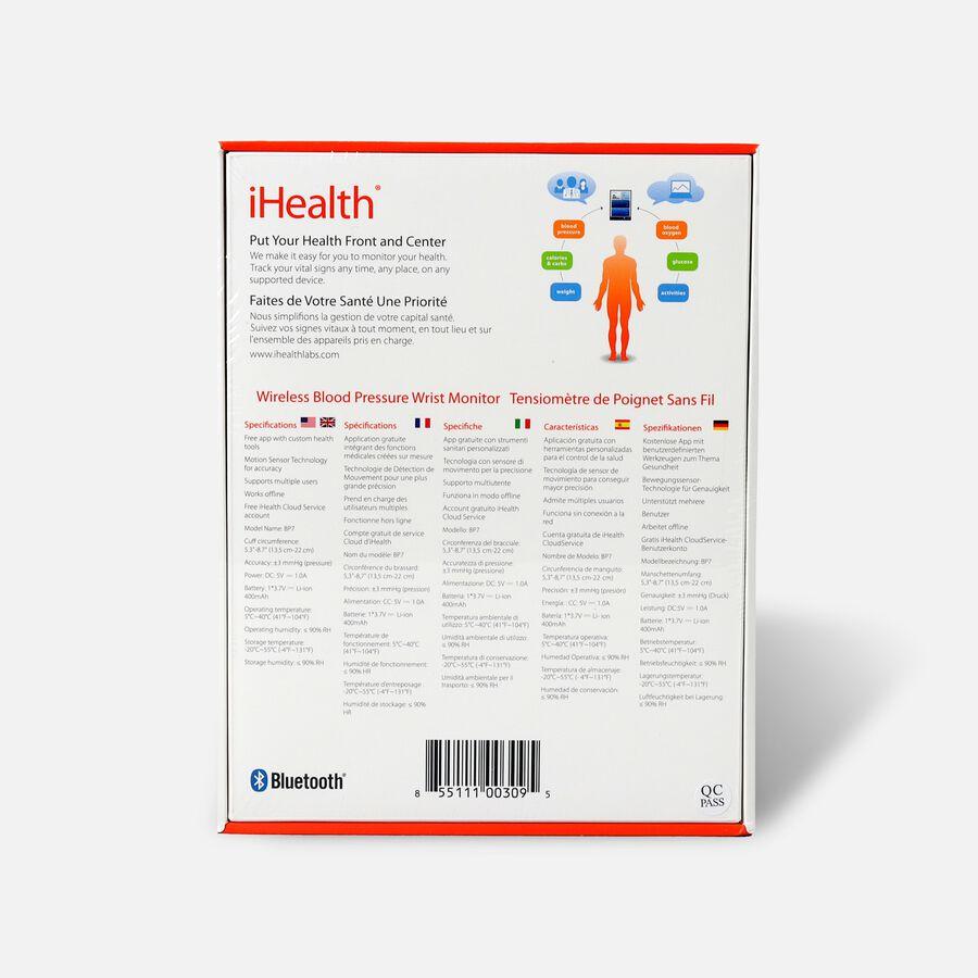 iHealth BP7 Wrist Blood Pressure Monitor, , large image number 2