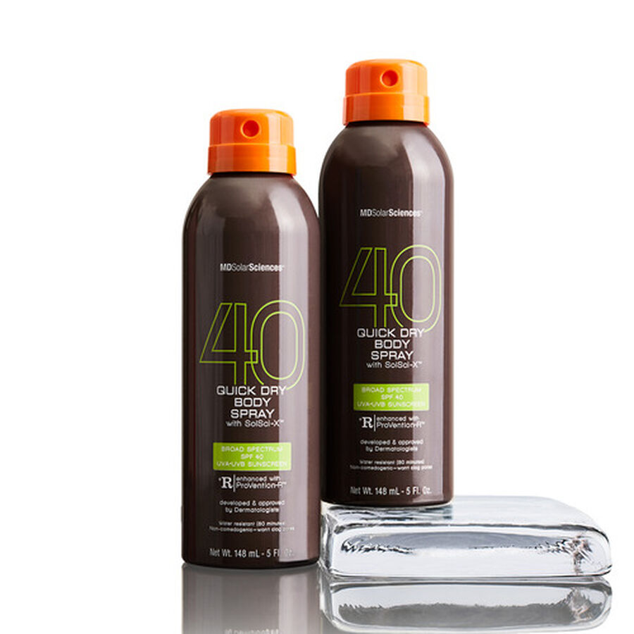 MDSolarSciences Quick Dry Body Spray Duo SPF 40, 10 oz, A $40 Value!, , large image number 2
