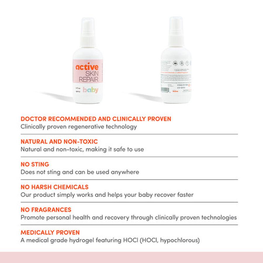 Active Skin Repair Baby Spray 3oz., , large image number 6