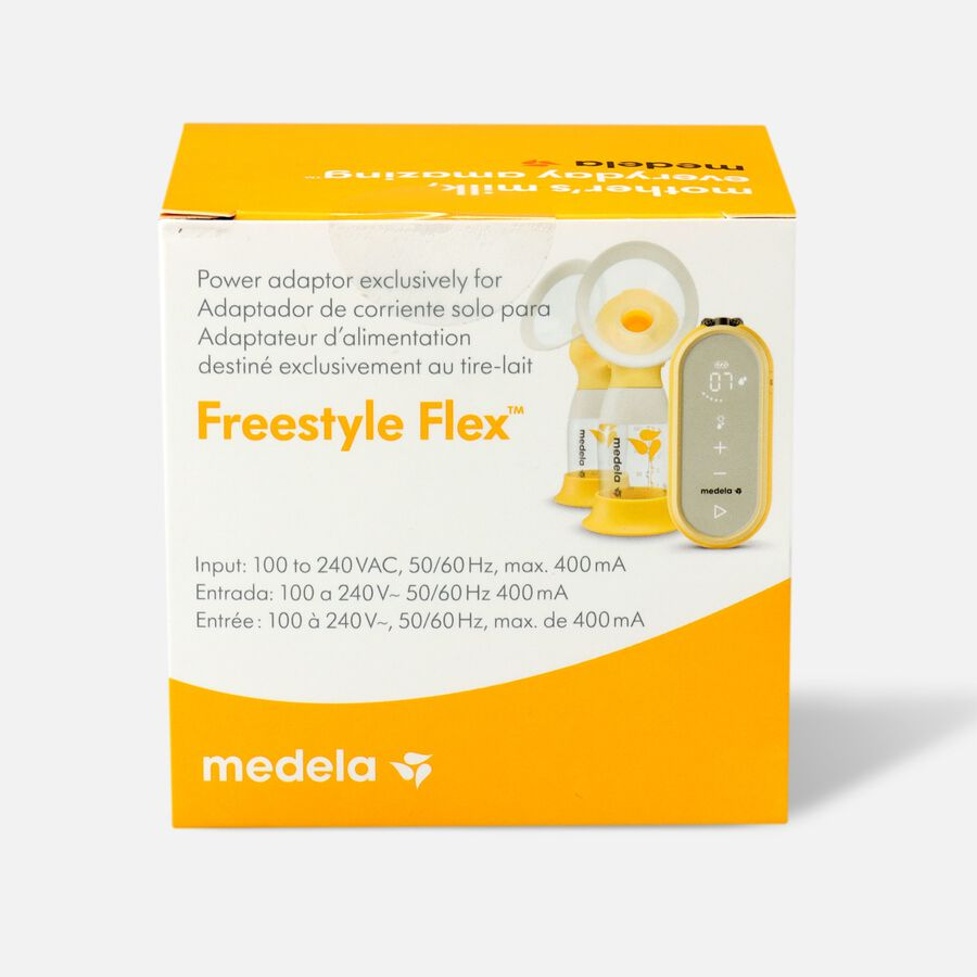 Medela Freestyle Flex Breast Pump Replacement Power Adaptor, , large image number 1