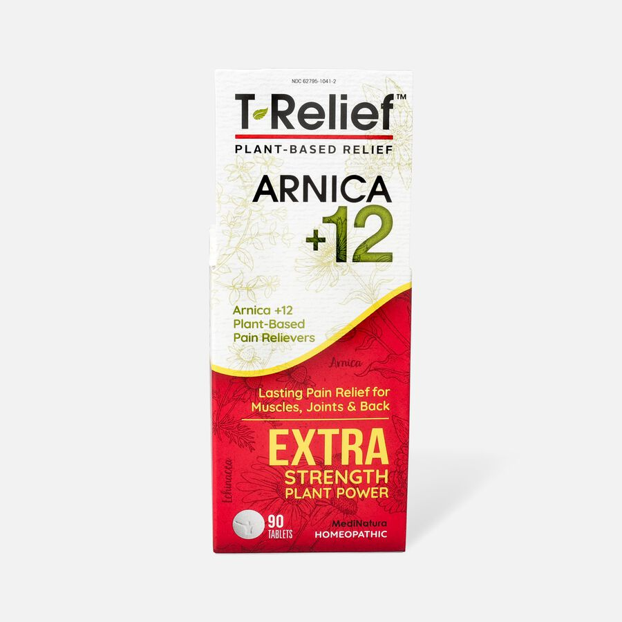 T-Relief Extra Strength Pain Relief Tablets, 90 ct, , large image number 1