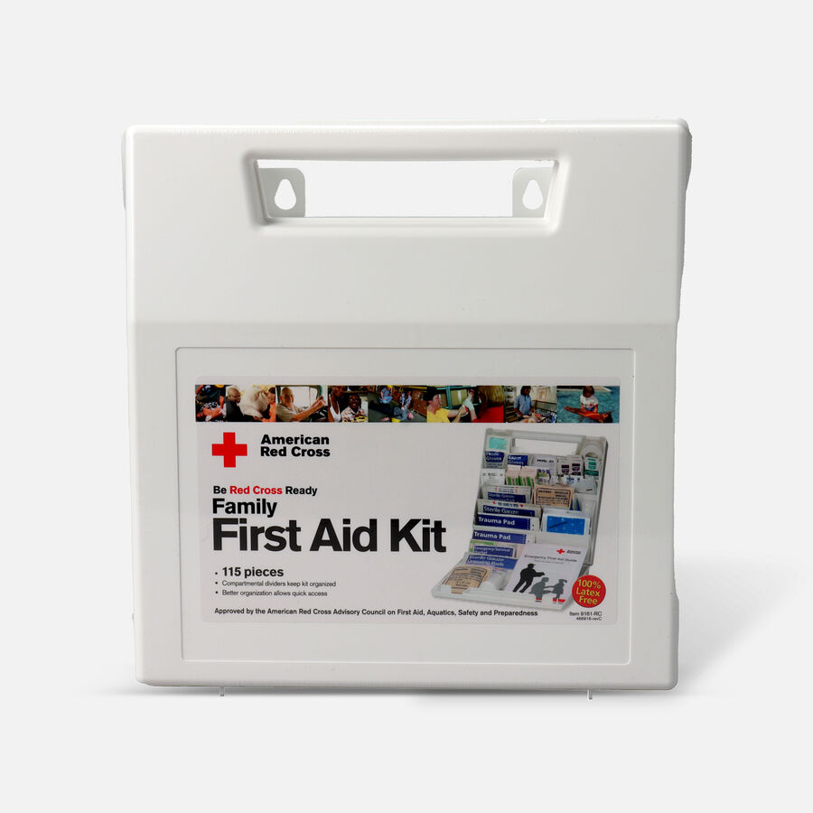 American Red Cross Family Bulk First Aid Kit, 114ct, , large image number 1