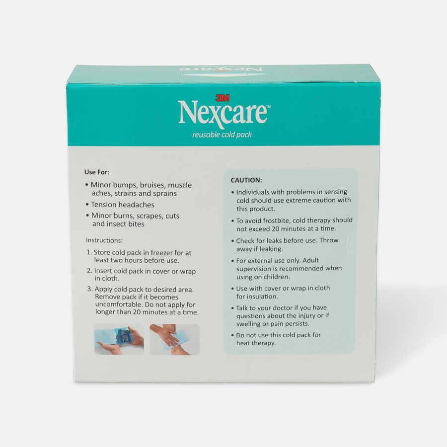 """3M Nexcare Reusable Cold Pack, 4"""" x 10"""", , large image number 1"""