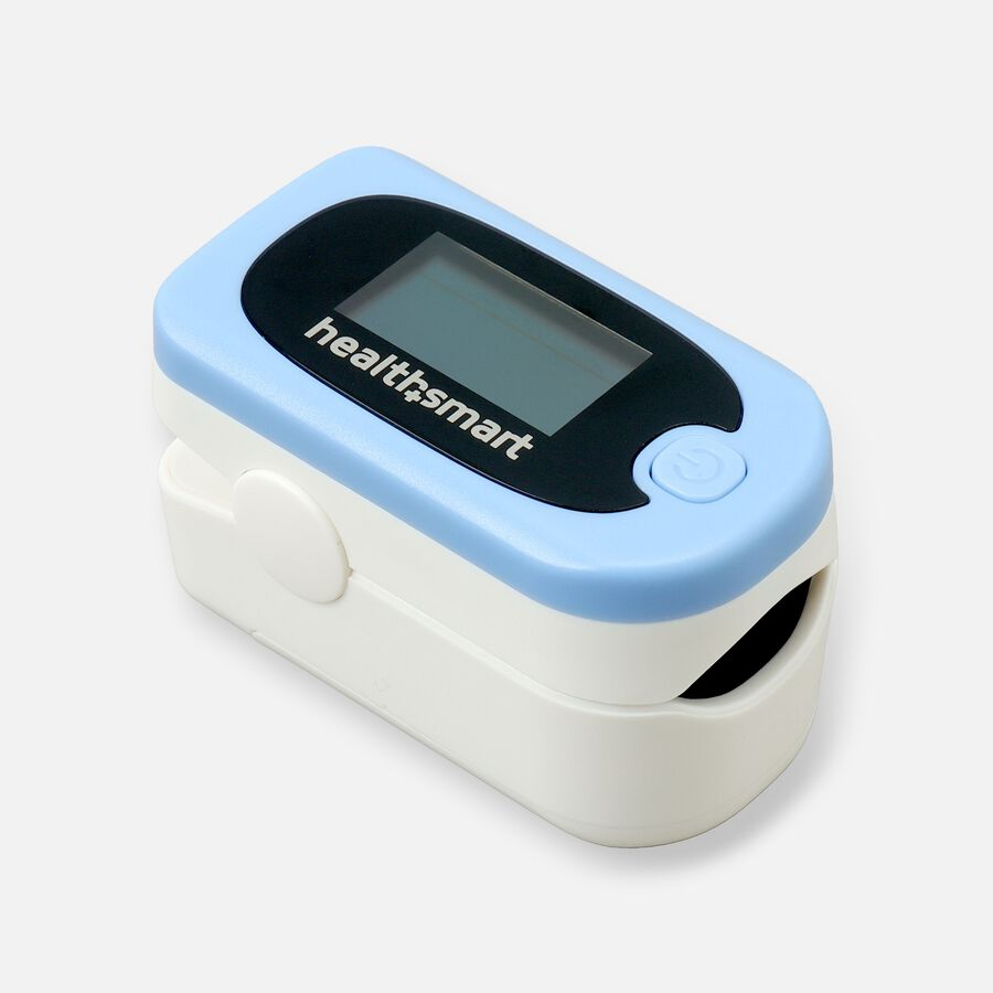 HealthSmart Pulse Oximeter Deluxe with 2-Color Display, , large image number 0