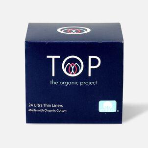 TOP Organic Cotton Ultra Thin Panty Liners, Light, 24 ct