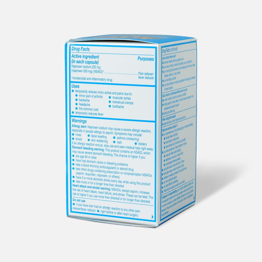 Aleve Liquid Gels Pain Reliever/Fever Reducer, 40 ea, , large image number 3
