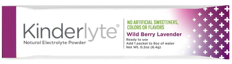Kinderlyte Herbal Sleep Supplement Powder Wild Berry Lavender, 6 Count, , large image number 4