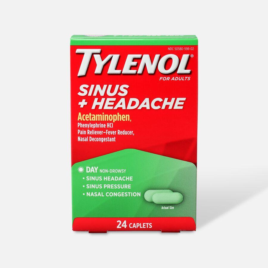Tylenol Sinus + Headache Daytime Caplet, 24ct, , large image number 0