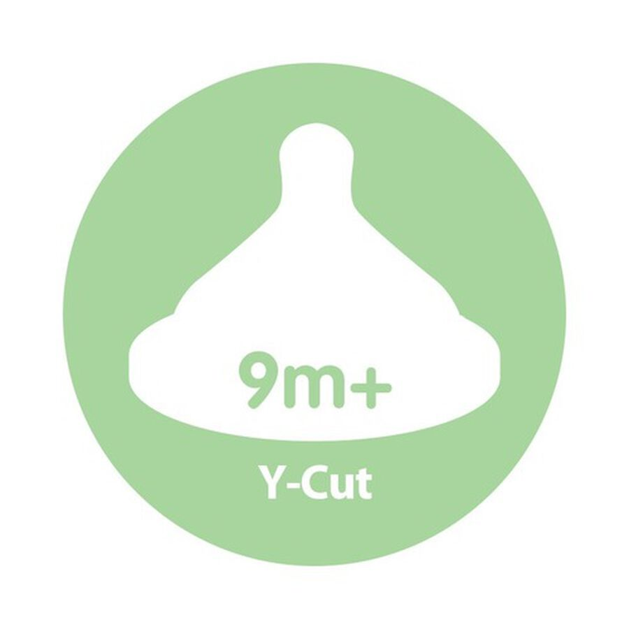 Dr. Brown's Y-Cut Natural Silicone Nipple, Wide-Neck, , large image number 2