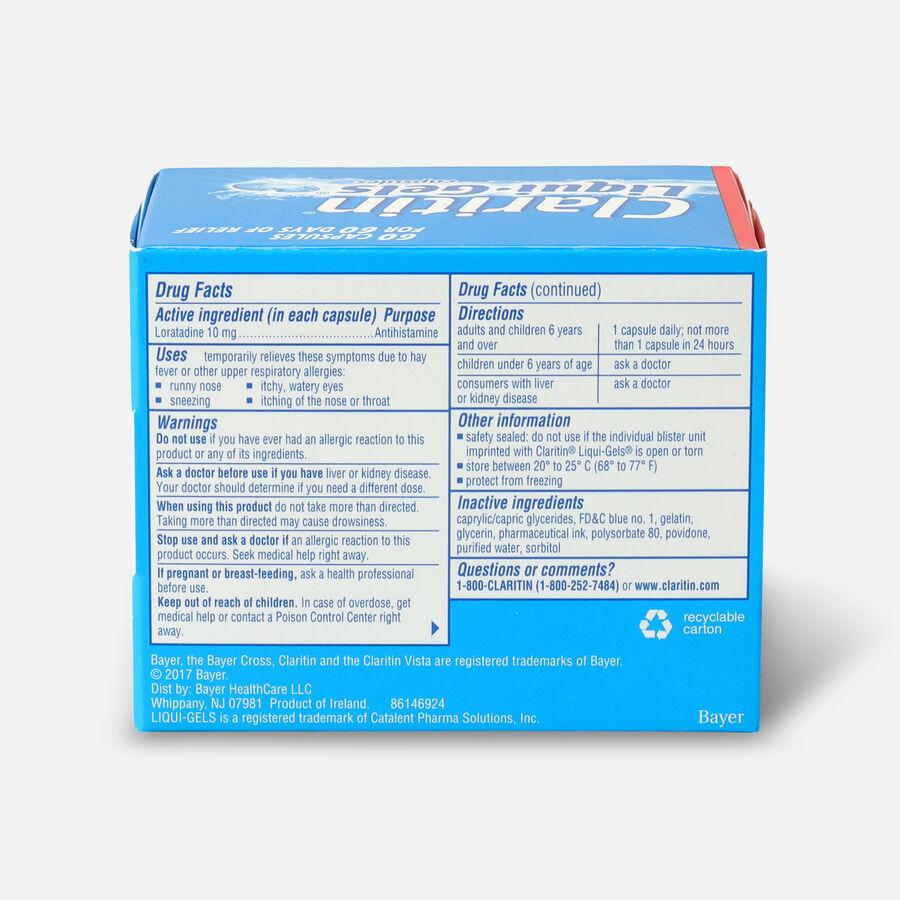 Claritin Allergy LiquiGels, 60 Count, , large image number 1