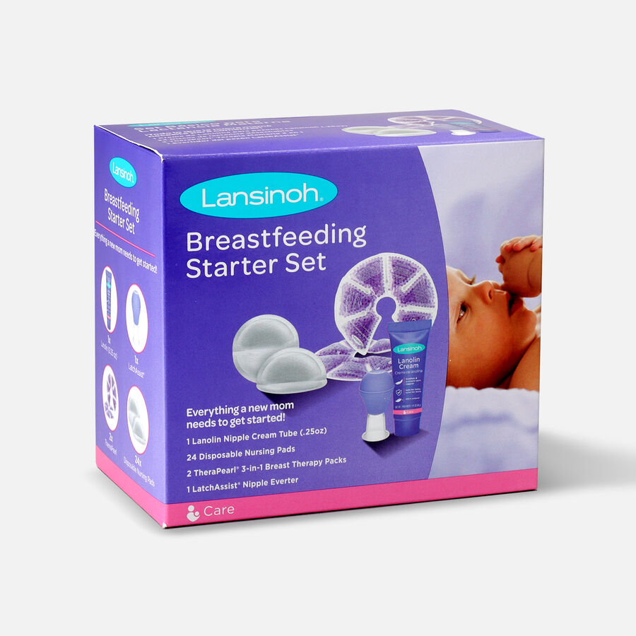 Lansinoh Breastfeeding Starter Set, , large image number 4