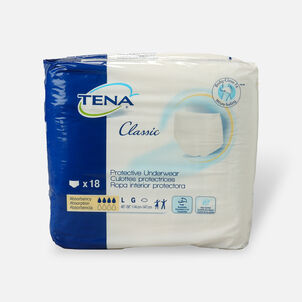 TENA® Protective Underwear Classic, Large, 18 ea