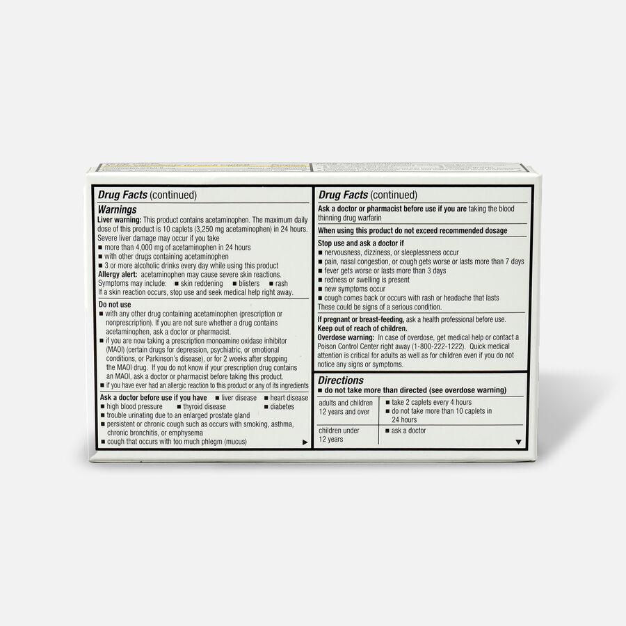 GoodSense® Pressure + Pain PE + Mucus Relief Adult Caplets, 24 ct, , large image number 1
