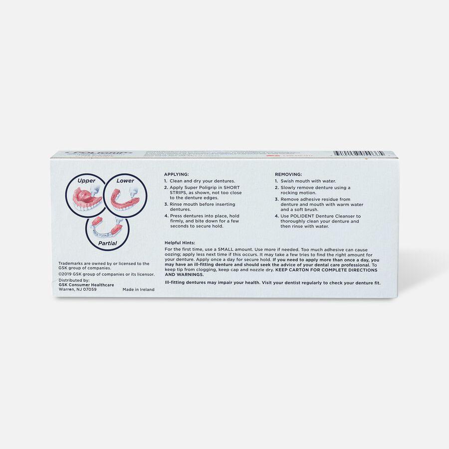 Super Poligrip Original Formula Zinc Free Denture Adhesive Cream - Twin Pack, , large image number 1