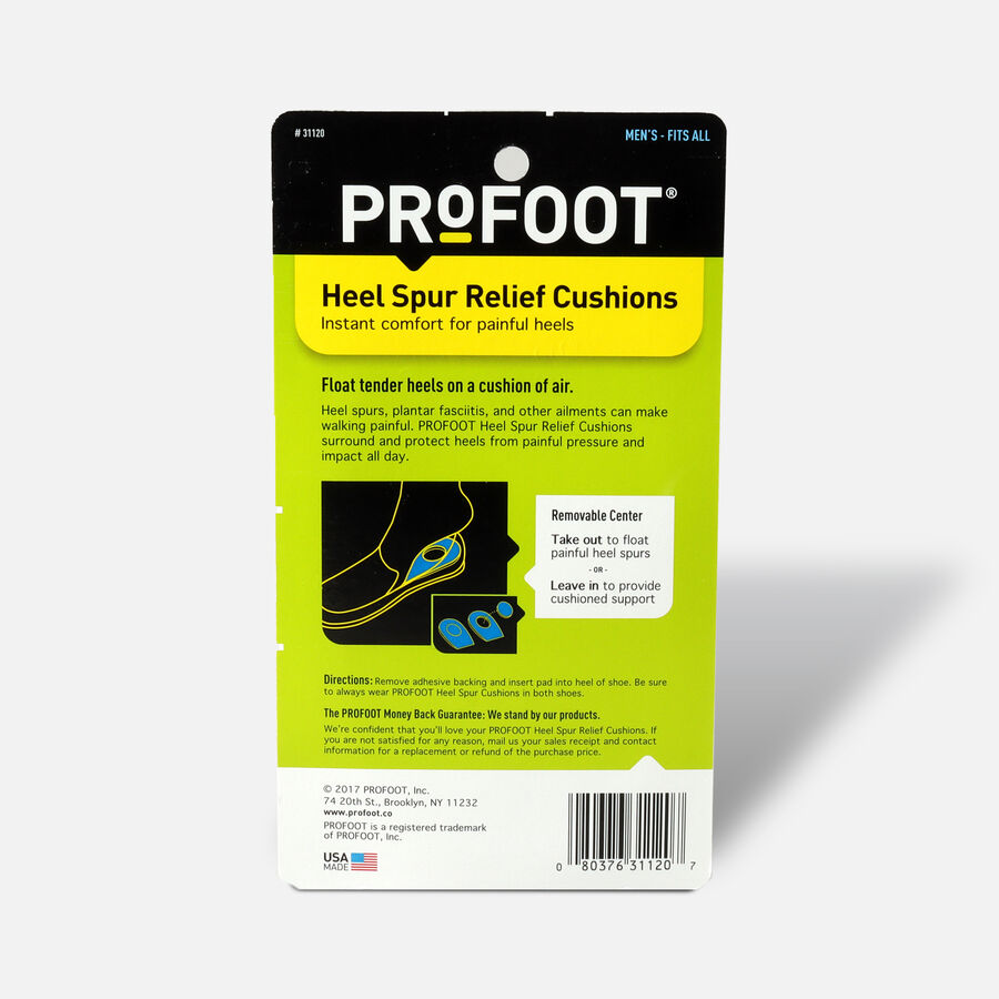 Profoot Heel Spur Relief Cushion for Men - 1 ea, , large image number 1