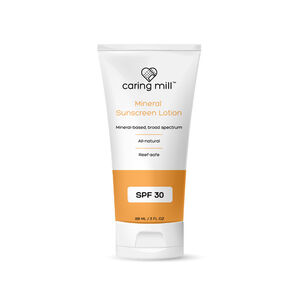 Caring Mill™ SPF 30 Mineral Sunscreen Lotion